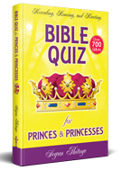 Bible Quiz Book on Amazon